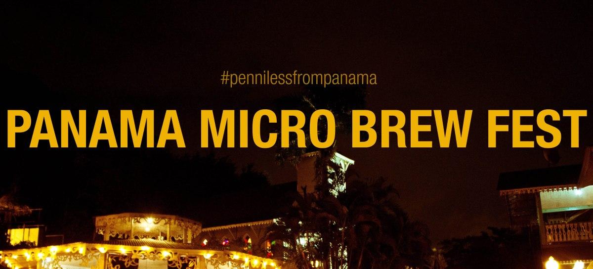 Panama Micro Brew Fest 2013