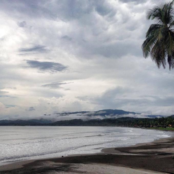 Panama overcast day