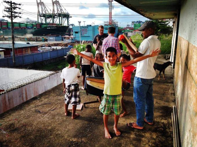 The children of cambio creativo, Panama