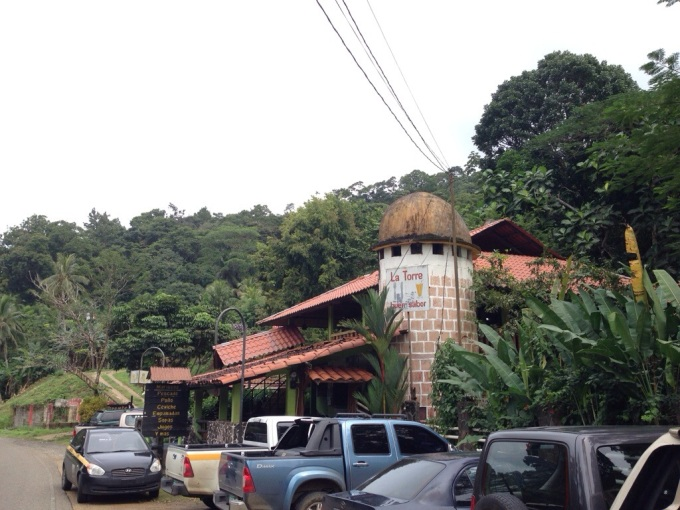 La Torre, Portobelo Panama restaurant