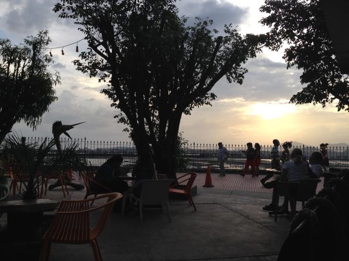 Casco Viejo sunset